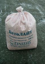 Легкий бетон Бетолайт